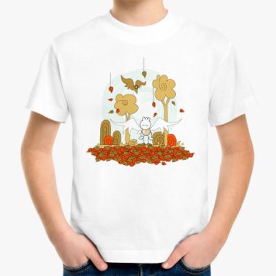 Детская футболка Осенняя Детская футболка