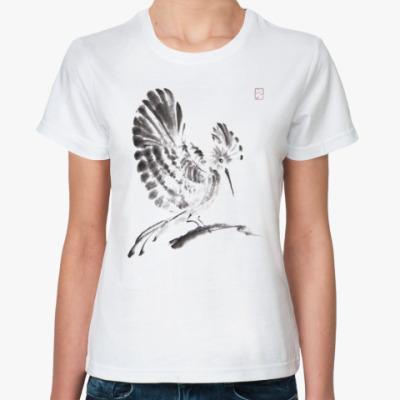 Классическая футболка Удод