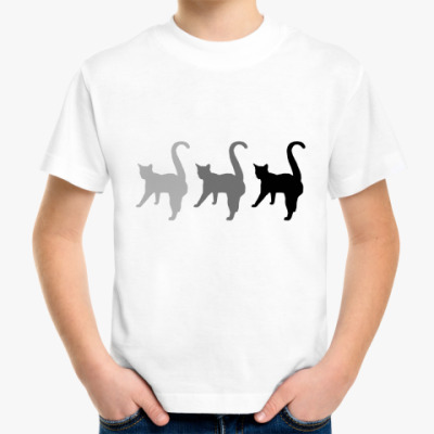 Детская футболка Три кота