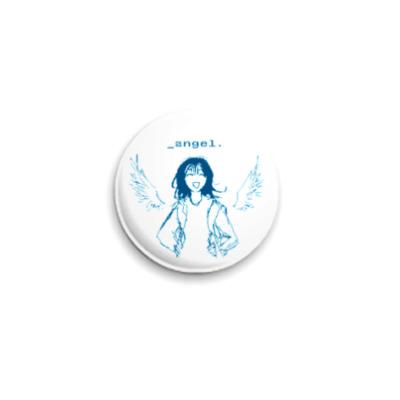 Значок 25мм  Angel