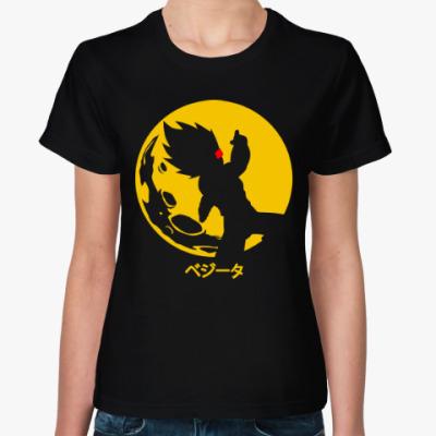 Женская футболка Гоку (Жемчуг дракона)