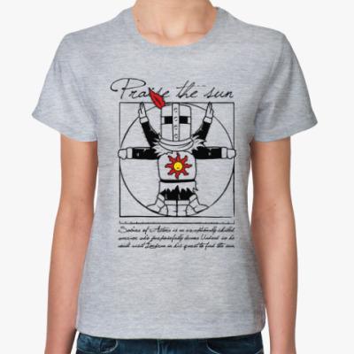 Женская футболка Praise the sun