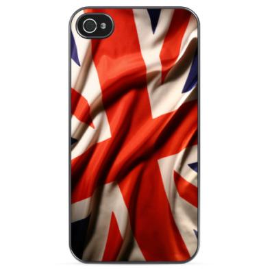 Чехол для iPhone Юнион Джек  (Union Jack)