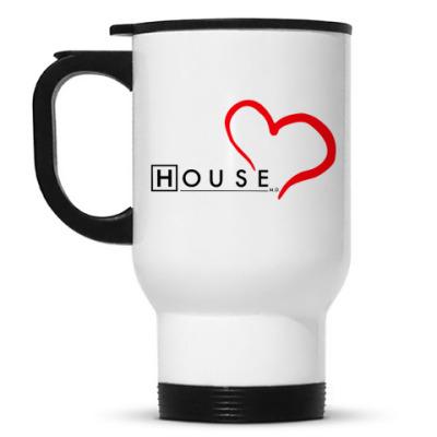 Кружка-термос House love