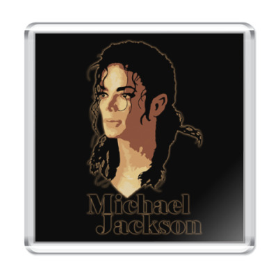 Магнит MJ portrait