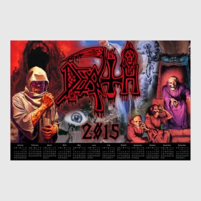 Постер Календарь на 2015г 'Death'