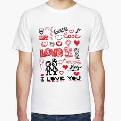 Футболка Love mix