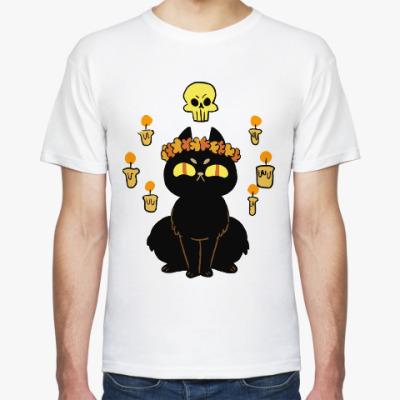 Футболка Черная Кошка