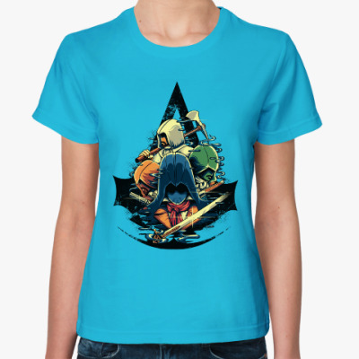 Женская футболка Ассасин