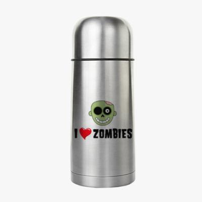 Термос I love zombies