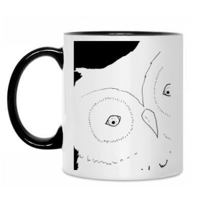 Кружка Взгляд совы