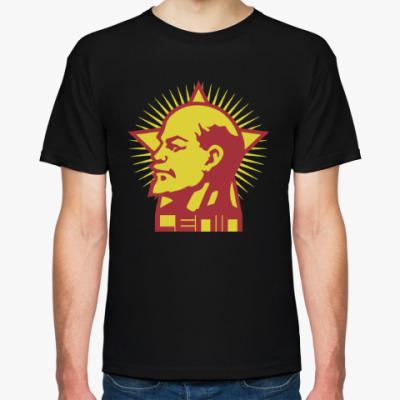 Футболка Ленин в звезде