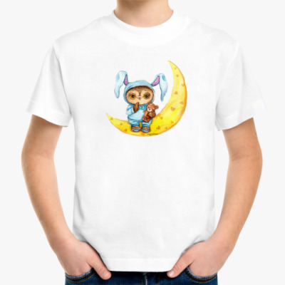 Детская футболка Совенок