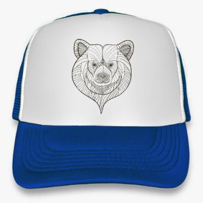 Кепка-тракер Медведь