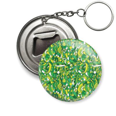 Брелок-открывашка 'Зеленое лето'
