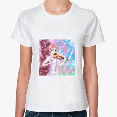 Классическая футболка Весна