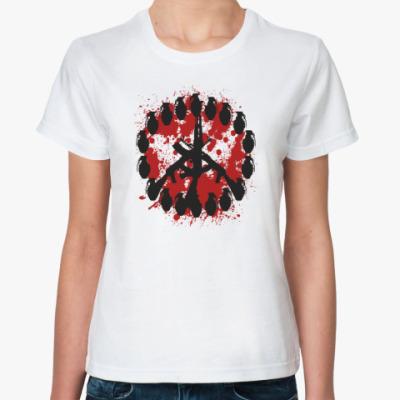 Классическая футболка Знак мира