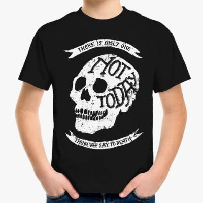 Детская футболка Игра престолов. Не сегодня