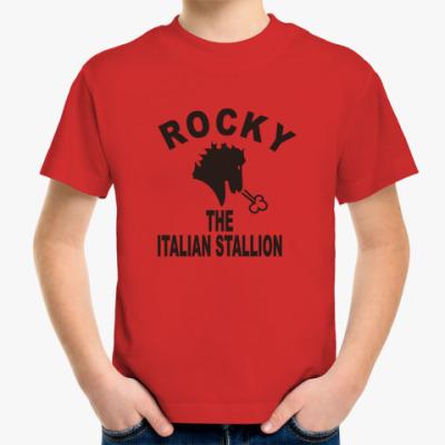 Детская футболка Рокки