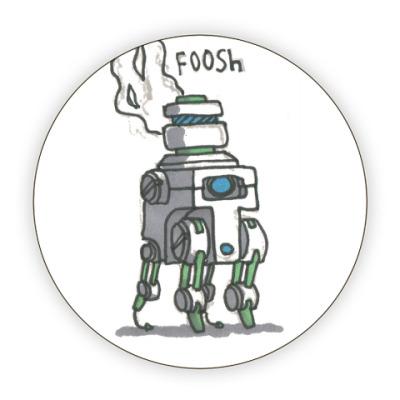 Костер (подставка под кружку) Шумные Роботы