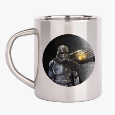 Кружка металлическая Star Wars Капитан Фазма