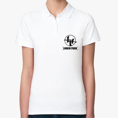 Женская рубашка поло Linkin Park