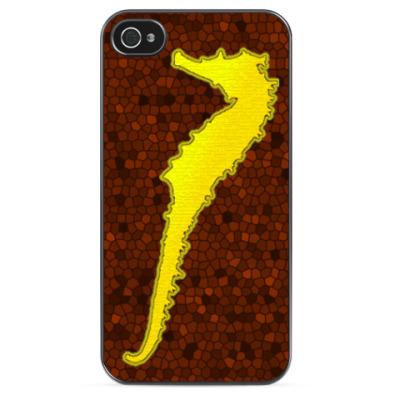 Чехол для iPhone 'Морской конек'
