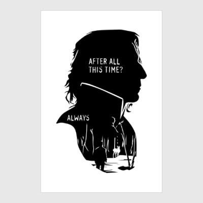 Постер Алан Рикман