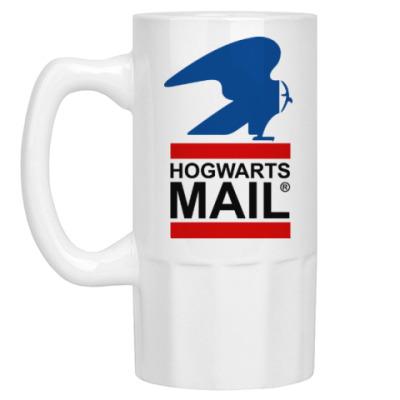 Пивная кружка Harry Potter - Почта Hogwarts