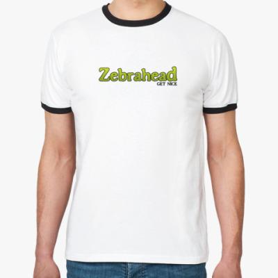 Футболка Ringer-T Zebrahead