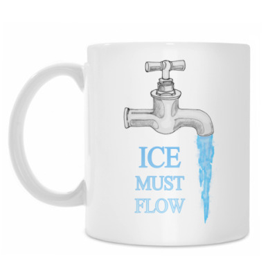 Кружка Ice Must Flow