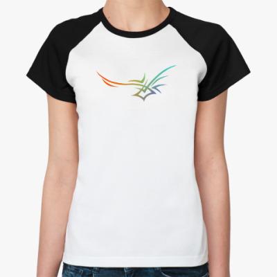 Женская футболка реглан Трайбл
