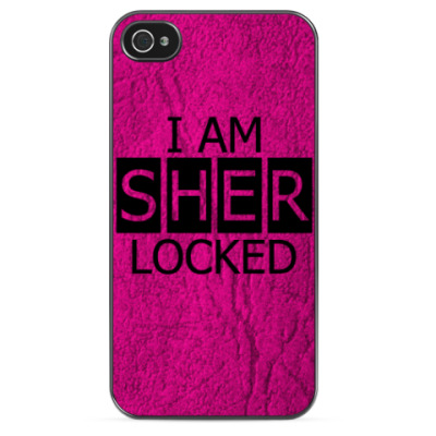 Чехол для iPhone i am sherlocked