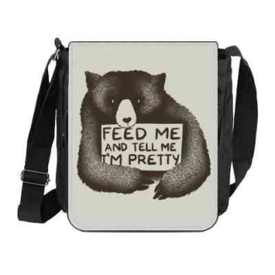 Сумка на плечо (мини-планшет) Покорми меня