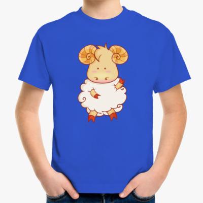 Детская футболка Овечка