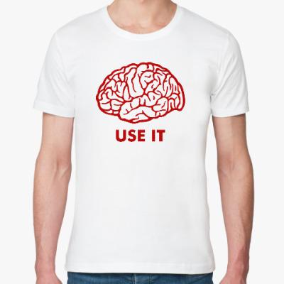 Футболка из органик-хлопка Мозг