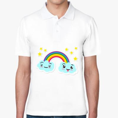 Рубашка поло Улыбка радуги