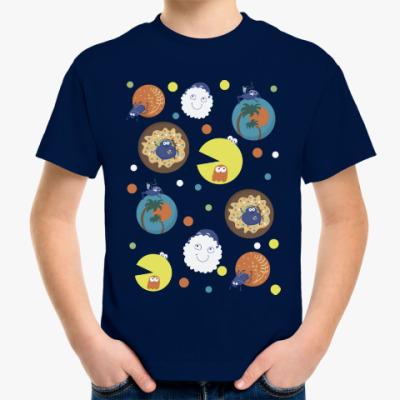 Детская футболка Жуки-скарабеи