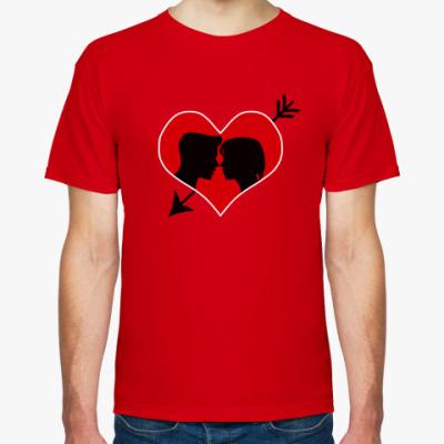 Футболка Сердце хочет любви