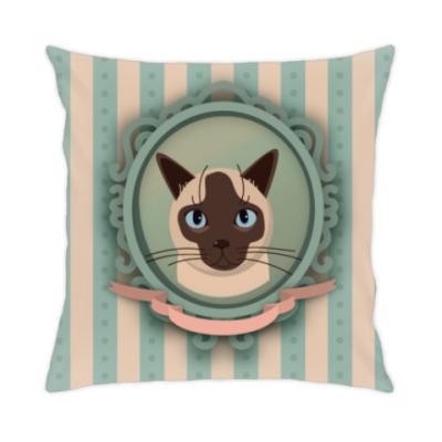 Подушка Сиамский кот