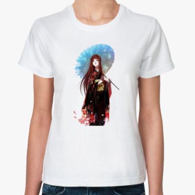 Классическая футболка  Geisha