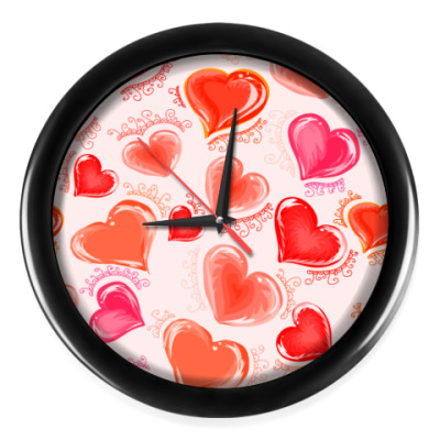 Настенные часы Для влюбленных