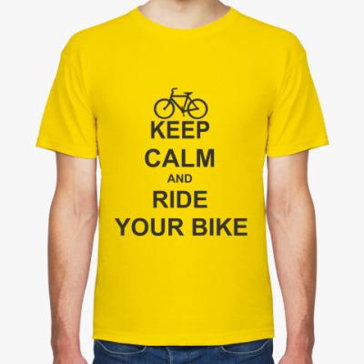 Футболка  Ride your bike