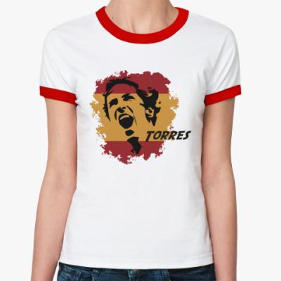 Женская футболка Ringer-T Торрес