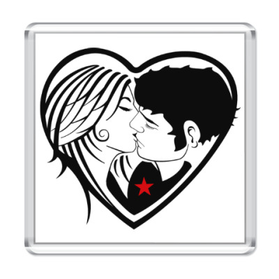 Магнит Kiss Forever