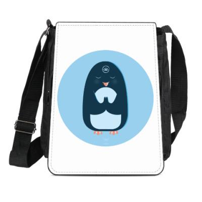 Сумка-планшет Animal Zen: P is for Penguin