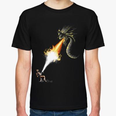 Футболка Firefighter vs Dragon