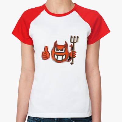 Женская футболка реглан sotona