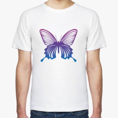 Футболка Бабочка Butterfly Vintage