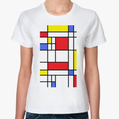 Классическая футболка Mondrian